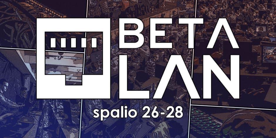 BETA LAN 2018 1-OSIOS DIENOS BILIETAS