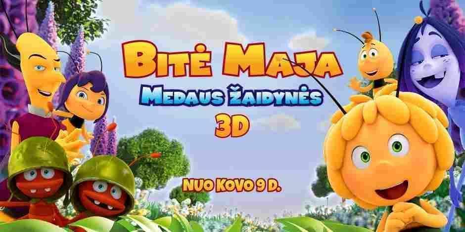 BITĖ MAJA: MEDAUS ŽAIDYNĖS 3D