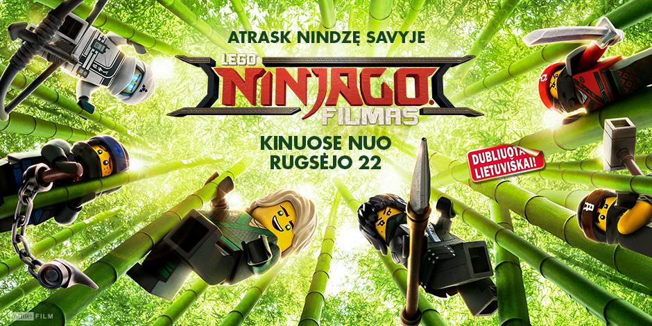LEGO NINJAGO FILMAS