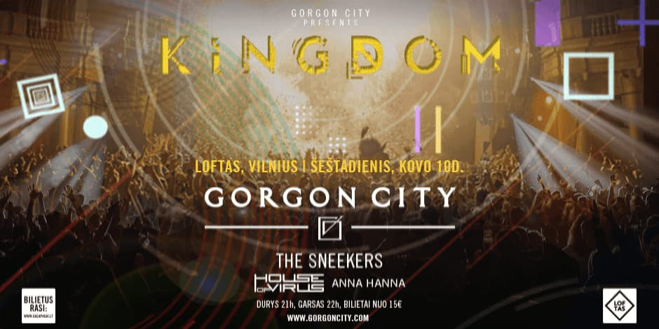 GORGON CITY: KINGDOM