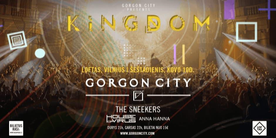 GORGON CITY: KINGDOM