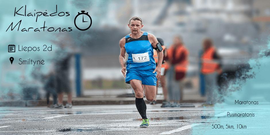 Klaipėdos maratonas 2017