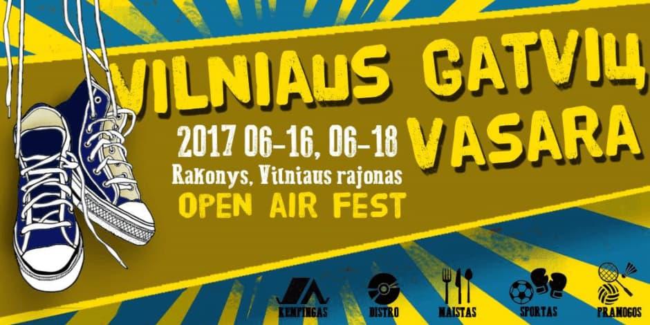 """Festivalis """"Vilniaus Gatvių vasara"""""""