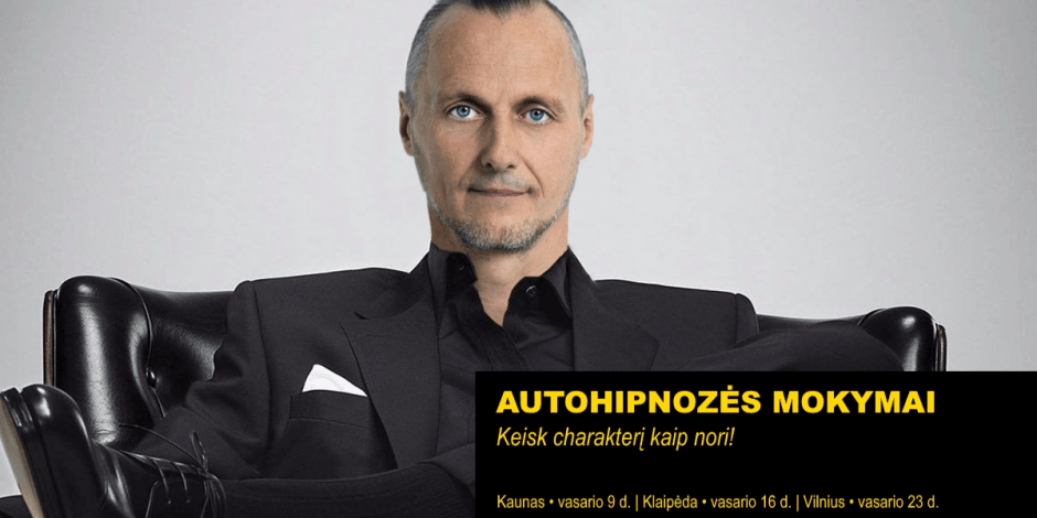 AUTOHIPNOZĖS MOKYMAI   Vilnius