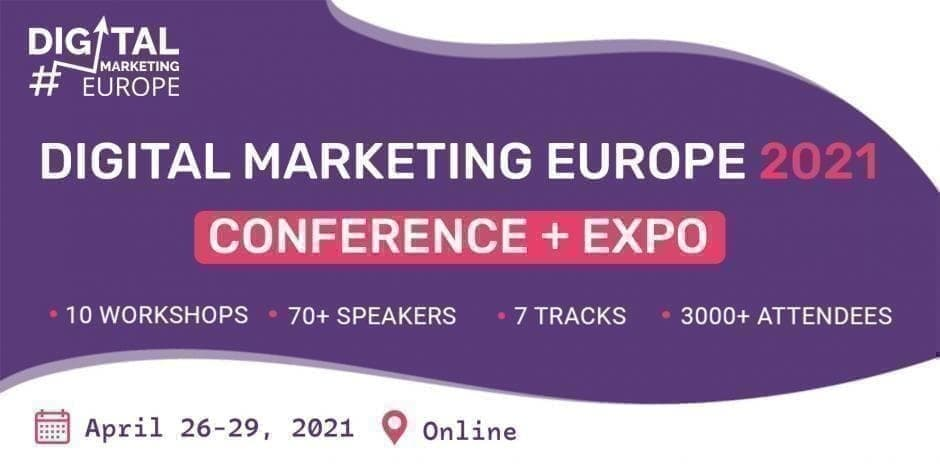 Digital Marketing Europe 2021 Conference + Expo / Online / Recording Pass