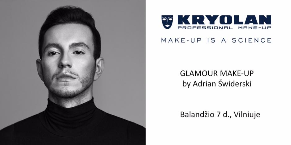 Kryolan Glamour Make-Up seminaras