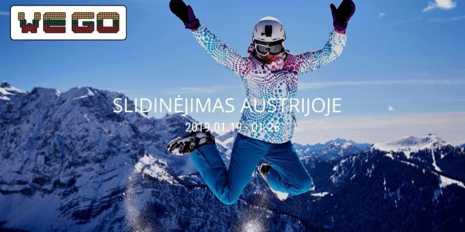 WE GO I Slidinėjimas Austrijoje (Bad Gastein)