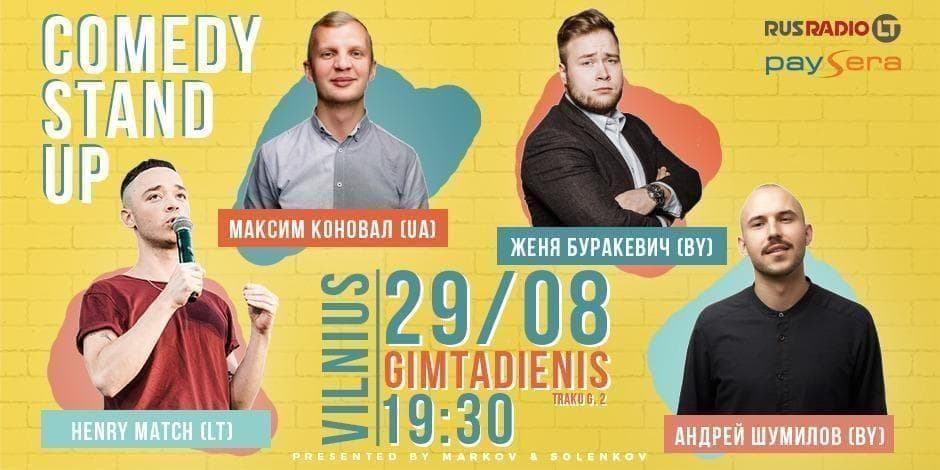 Comedy Stand Up Vilnius