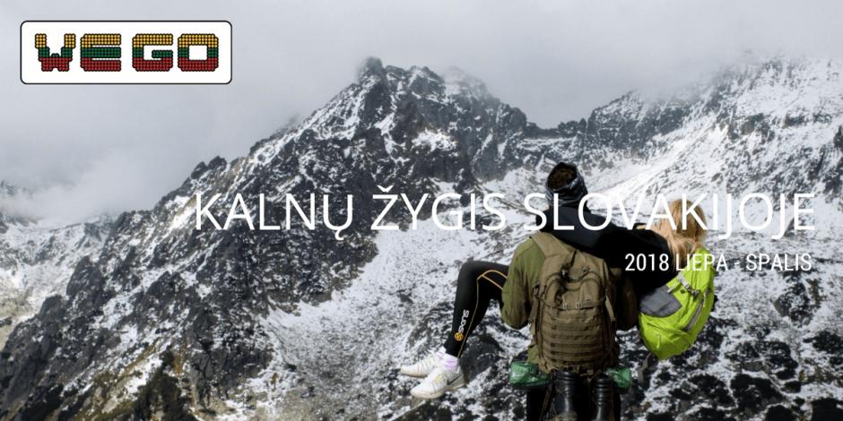 WE GO | Žygis Slovakijos kalnuose