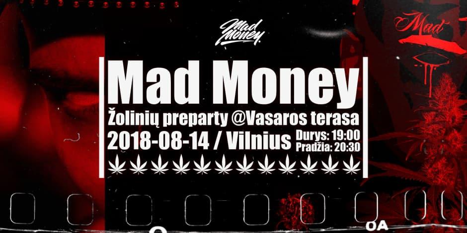 Mad Money | Žolinių preparty @Vasaros terasa