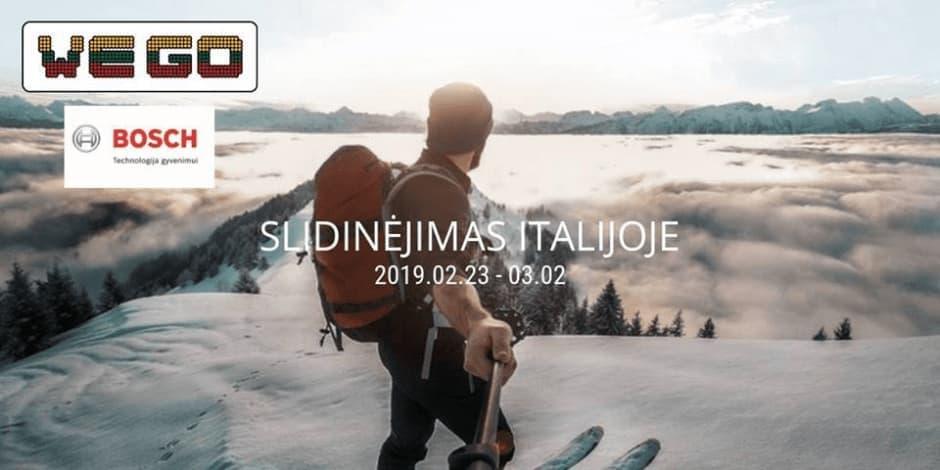WE GO I Italijos Alpės (Val Di Sole) 2019.02.23 - 03.02