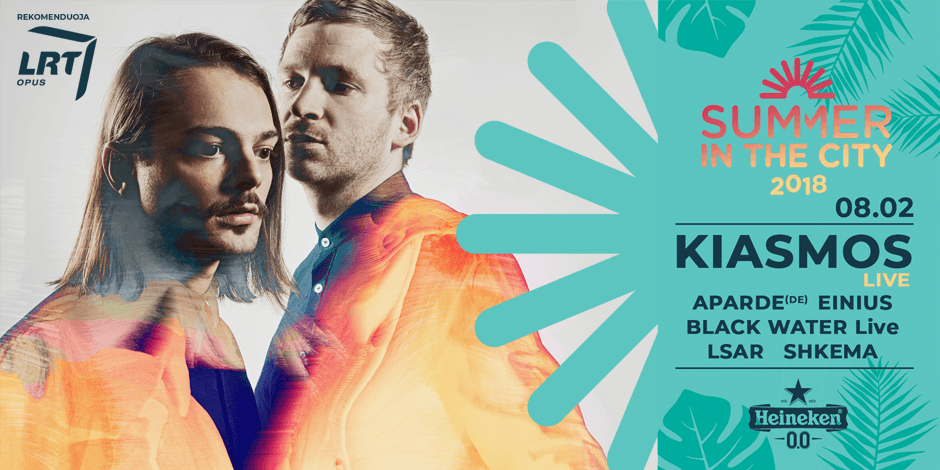 Summer in the City: Kiasmos (IS)