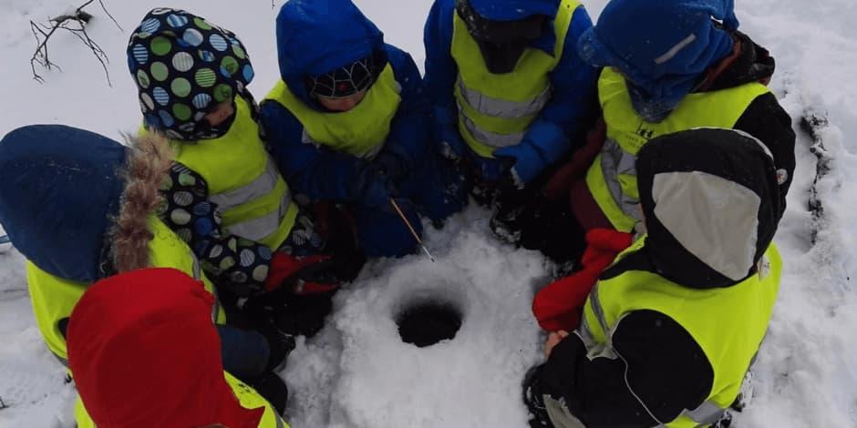 Ledo kelias (8-10 metų vaikams)