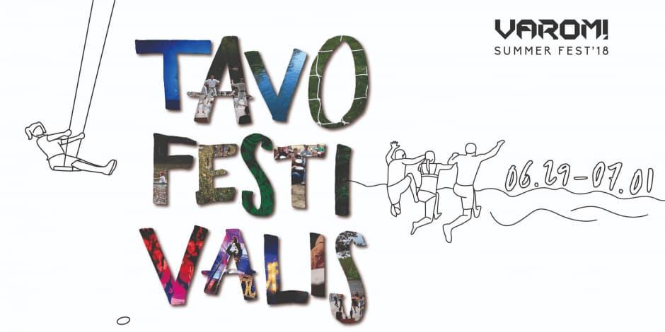 VAROM! summer fest'18. Tavo festivalis!