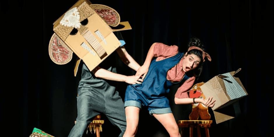 """Spektaklis """"Vėjai švilpia APIE DRAUGYSTĘ"""" Rež. Eglė Kižaitė. (5-8 m. vaikams)"""