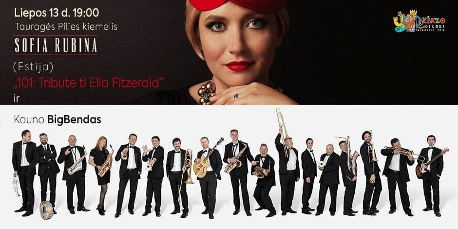 Sofia Rubina & Kauno BigBendas (Estija - Lietuva). 101: Tribute to Ella Fitzerald