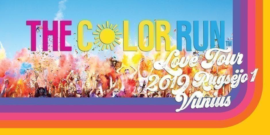 THE COLOR RUN Vilnius 2019 LOVE Tour