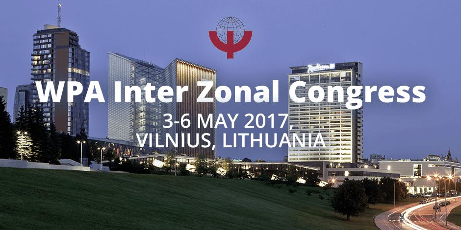 WPA Inter Zonal Congress, Vilnius 2017