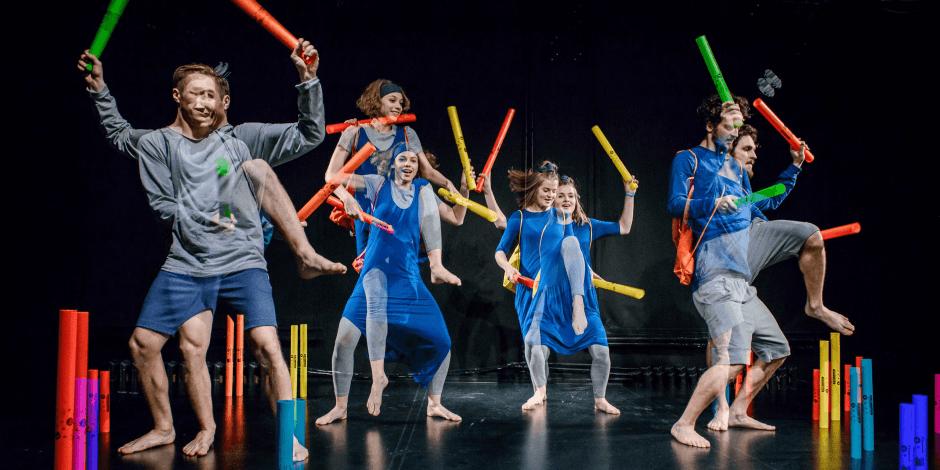 """Muzikinis judesio spektaklis """"Tuku tuku"""" Rež. Ieva Jackevičiūtė (vaikams nuo 2 m.)"""