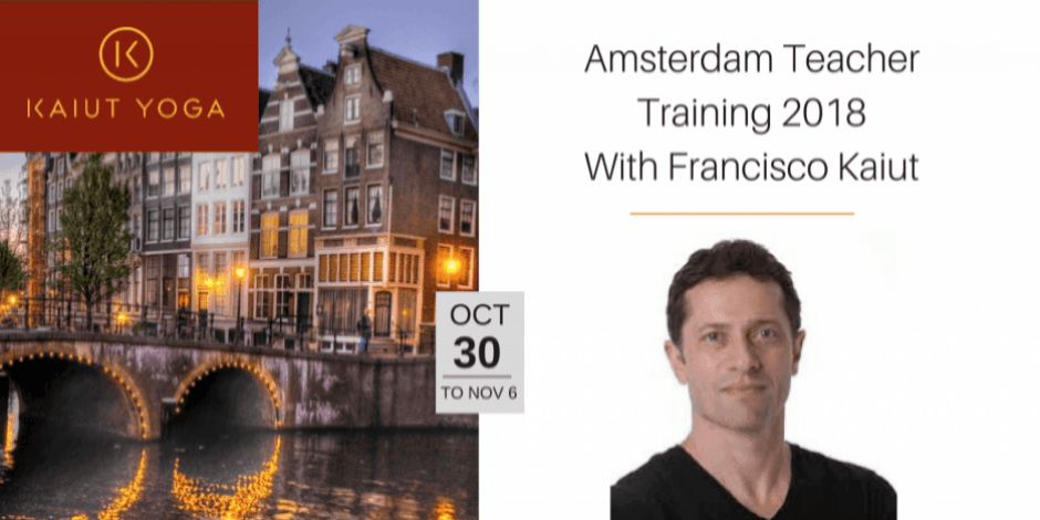 October 2018 Amsterdam Teacher Training