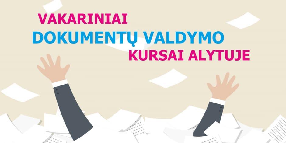 Dokumentų valdymo (raštvedybos) kursai