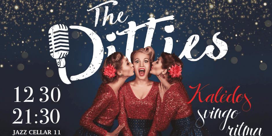 Kalėdos svingo ritmu su The Ditties