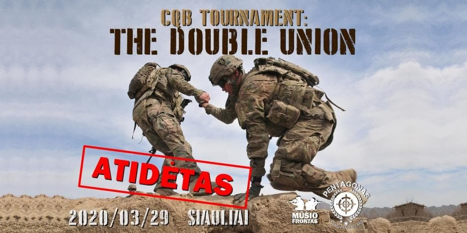 CQB tournament: the Double union 2020 03 29 Šiauliai