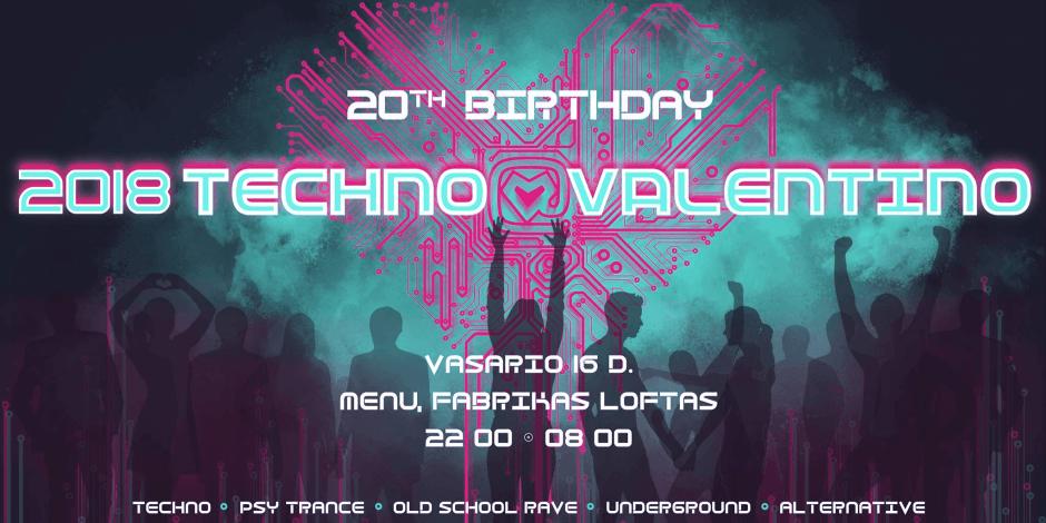 Techno Valentino 2018