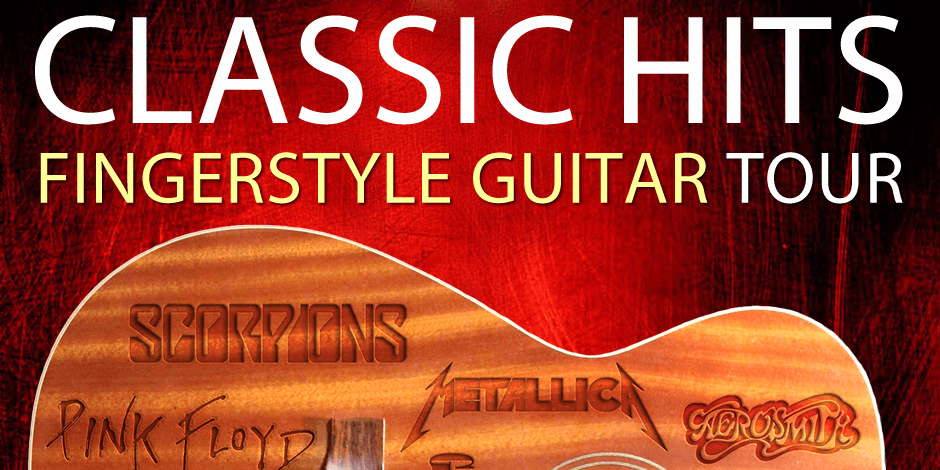 Classic Hits Fingerstyle Guitar Tour - Tomi Paldanius - Kaunas