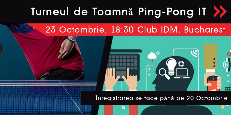 Turneul de Toamnă Ping-Pong IT