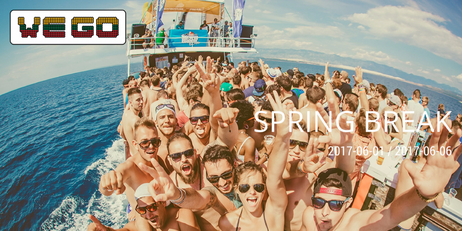 WE GO I SPRING BREAK (Kroatija)