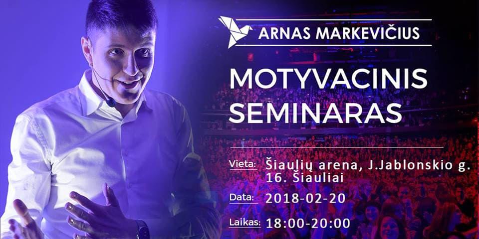 Motyvacinis seminaras Šiauliuose