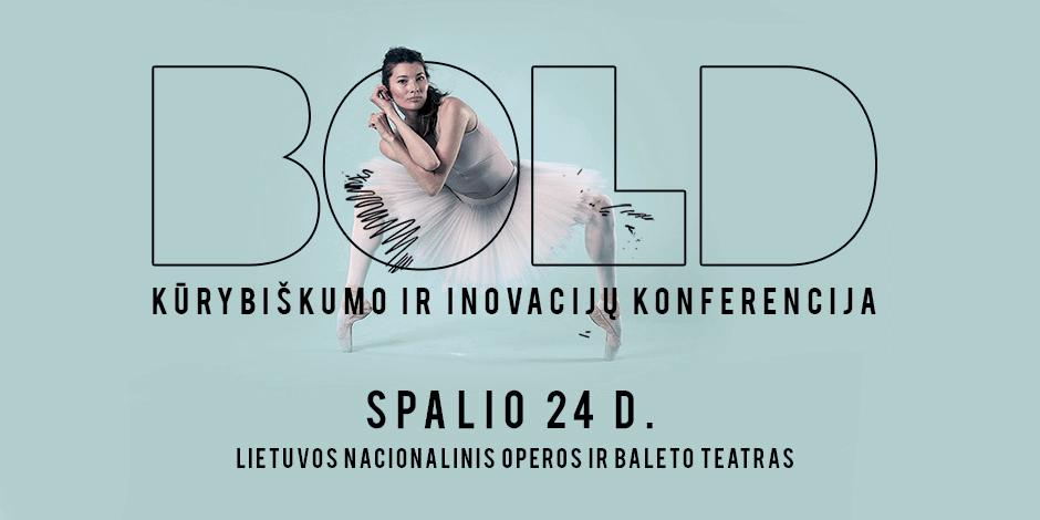 BOLD - kūrybiškumo ir inovacijų konferencija
