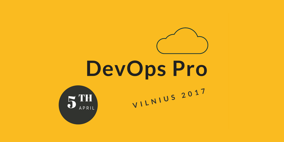 DevOps Pro Vilnius 2017 Workshop