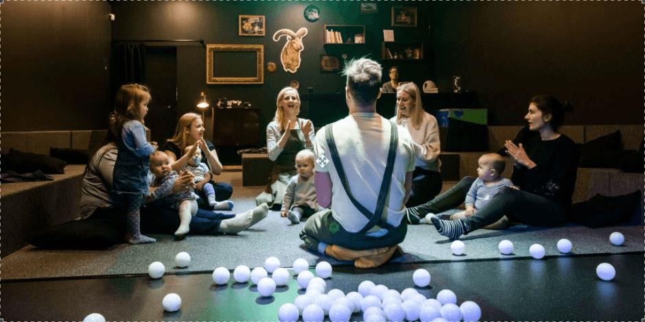 Meno pažinimas (6 mėn. - 3 m. vaikams)