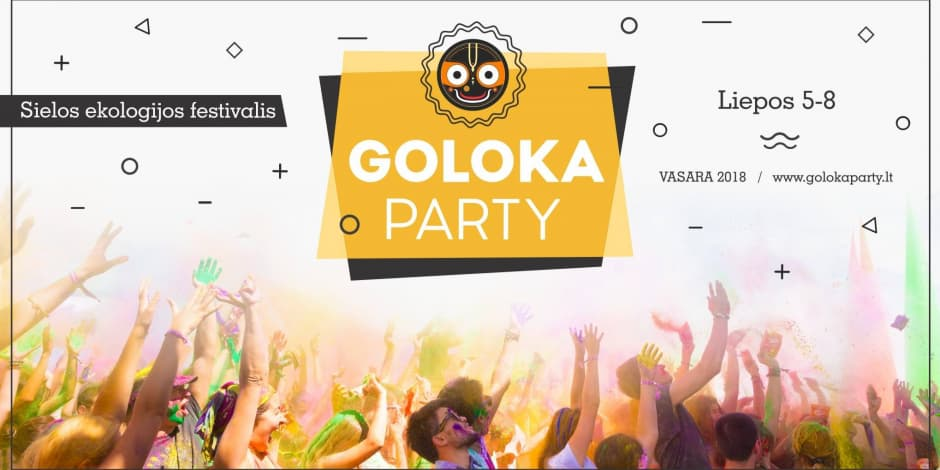 Goloka Party Lila 2018