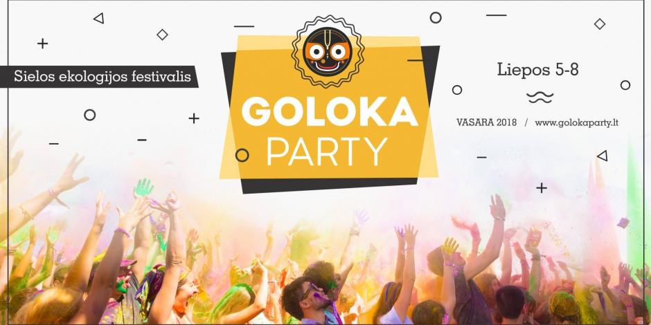 Goloka Party Lila 2018