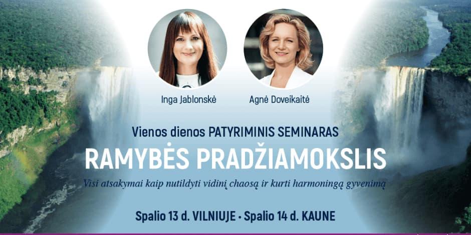 """RAMYBĖS PRADŽIAMOKSLIS"" VILNIUJE"