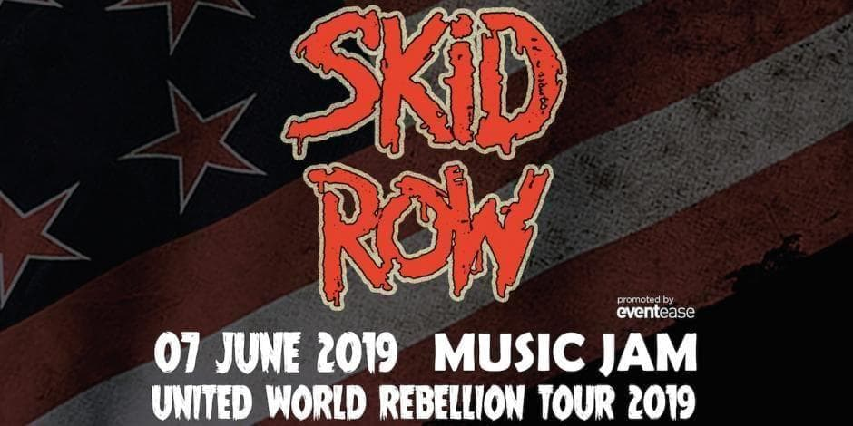 SKID ROW Live in Sofia