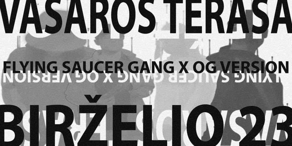 Flying Saucer Gang x OG Version JOINTINĖS