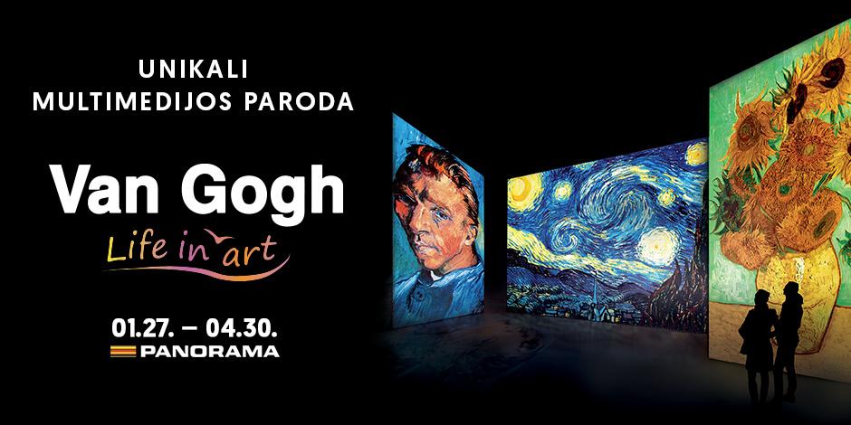 Van Gogh Life in art. Darbo diena