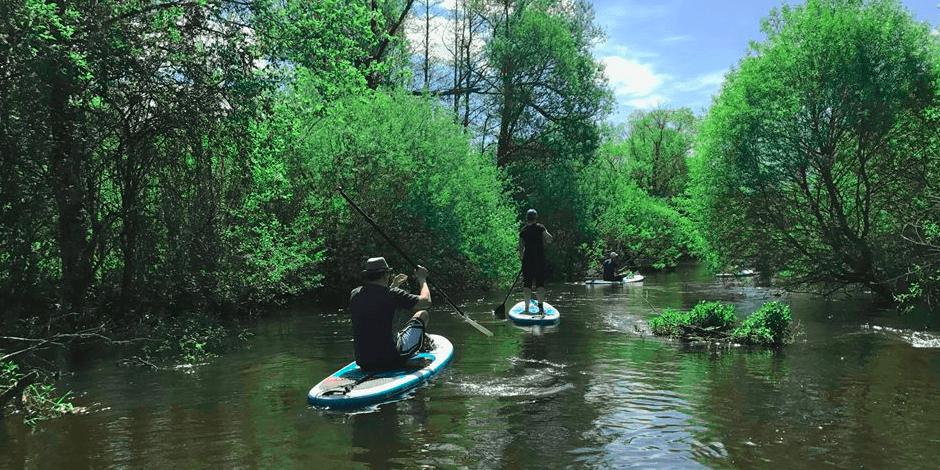 Irklenčių turas Merkio upe