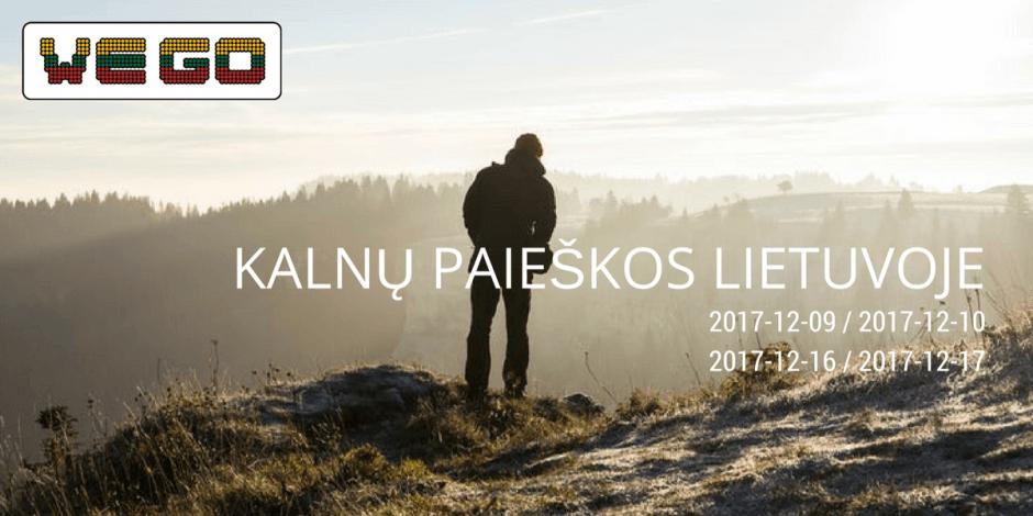 WE GO | Kalnų paieškos Lietuvoje