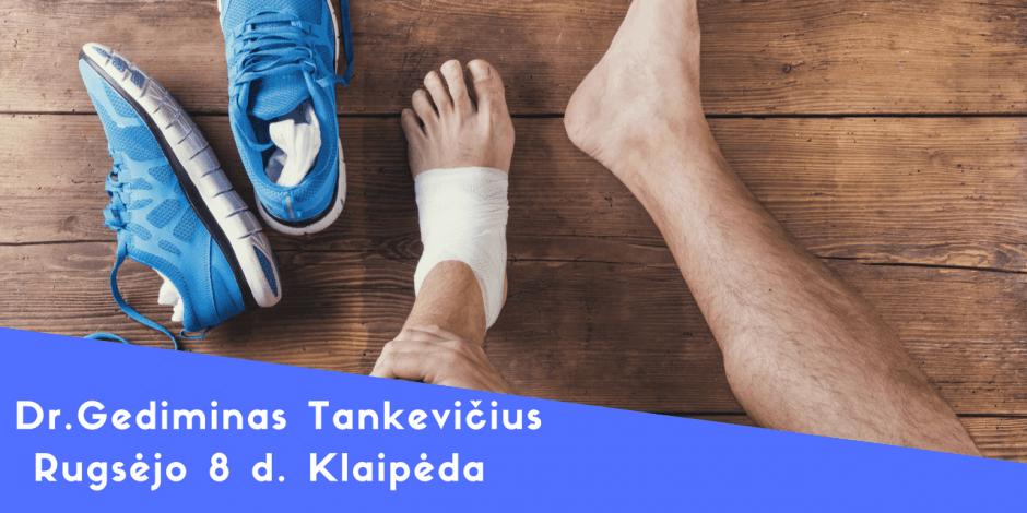 Gediminas Tankevičius. Dažniausios sportinės traumos – ką reikėtų žinoti treneriui: prevencija, gydymas, reabilitacija, sugrįžimas į sportą