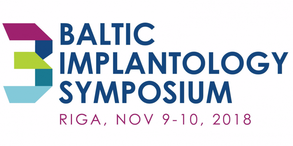 3rd Baltic Implantology Symposium 2018