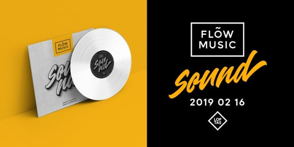 Flow Music Sound. Vinilo pristatymas