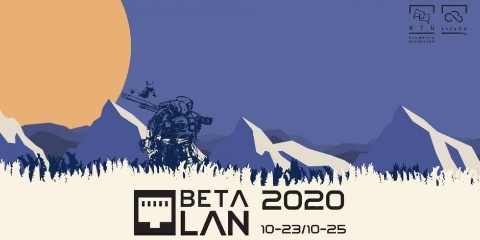 BETA LAN 2020 antra diena / second day