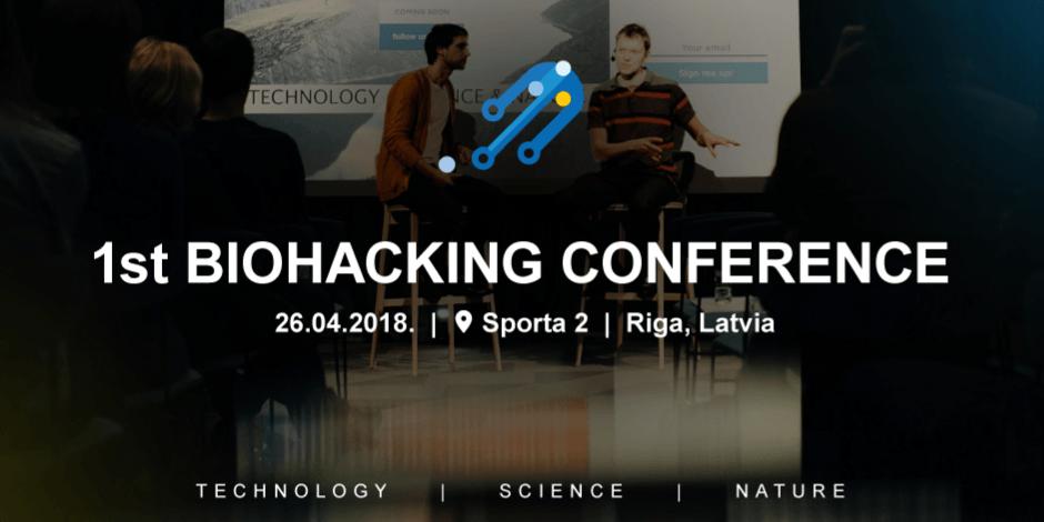 Biohacking konference Rīgā