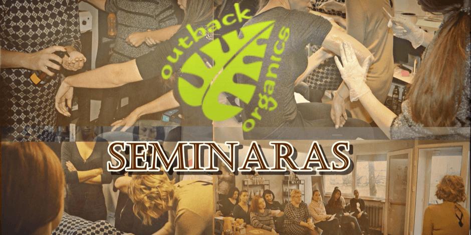 "Pristatomasis ""Outback Organics"" seminaras 2018.03.26"