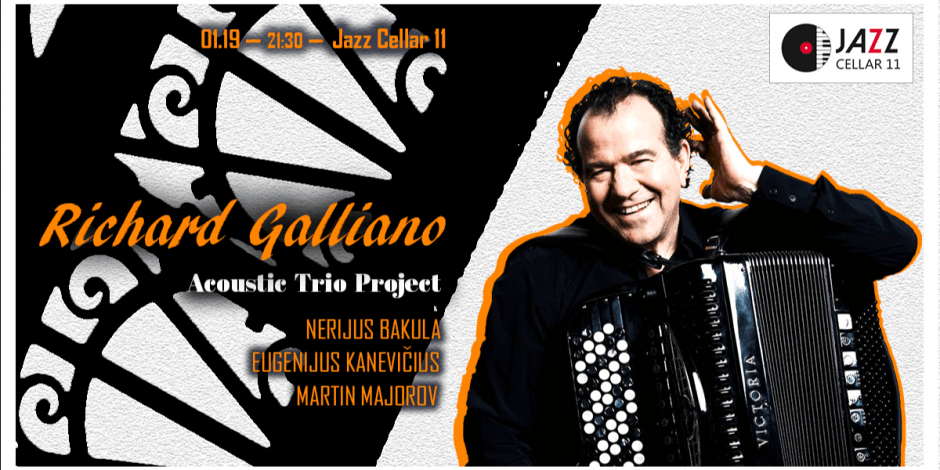 Richard Galliano Acoustic Trio Project